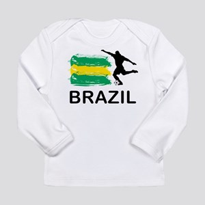 Brazil Football Long Sleeve Infant T-Shirt