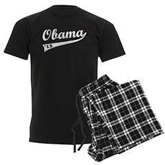 Obama 2012 Swish Men's Dark Pajamas
