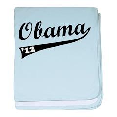 Obama 2012 Swish baby blanket