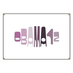 Obama12 Oval (purple) Banner