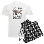 Presidential Firsts Men's Light Pajamas