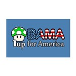 Obama 1up for America 38.5 x 24.5 Wall Peel