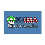 Obama 1up for America 22x14 Wall Peel