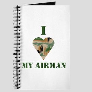 I Love (heart) My Airman Journal