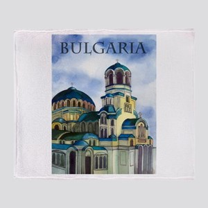 Bulgaria Throw Blanket