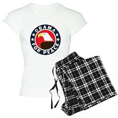 Obama For Peace Women's Light Pajamas