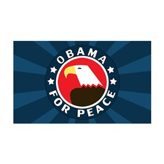 Obama For Peace 38.5 x 24.5 Wall Peel