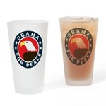 Obama For Peace Pint Glass