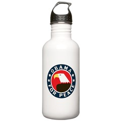Obama For Peace Stainless Water Bottle 1.0L