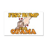 Fist Bump for Obama Car Magnet 12 x 20