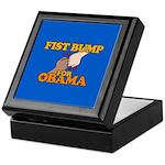 Fist Bump for Obama Keepsake Box
