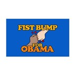 Fist Bump for Obama 38.5 x 24.5 Wall Peel
