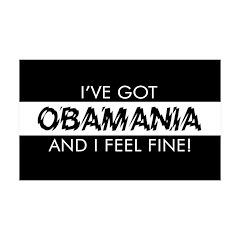 I've Got Obamania! 38.5 x 24.5 Wall Peel