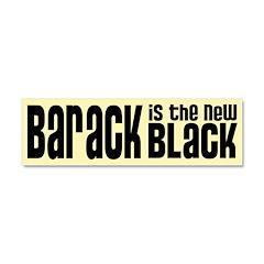 Barack the New Black Car Magnet 10 x 3