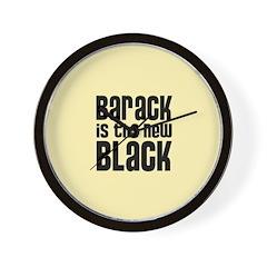 Barack the New Black Wall Clock