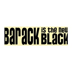Barack the New Black 42x14 Wall Peel