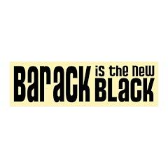 Barack the New Black 21x7 Wall Peel