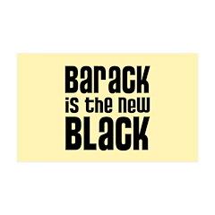 Barack the New Black 38.5 x 24.5 Wall Peel