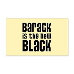 Barack the New Black 22x14 Wall Peel