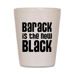 Barack the New Black Shot Glass