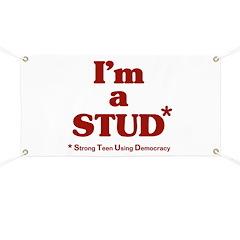 I'm a STUD* Banner