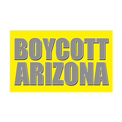 Boycott Arizona 38.5 x 24.5 Wall Peel