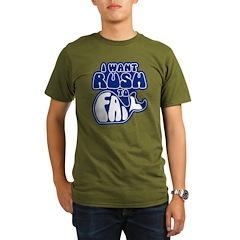 I Want Rush to Fail Organic Men's T-Shirt (dark)
