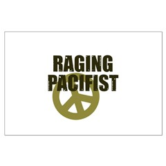 Raging Pacifist Large Poster