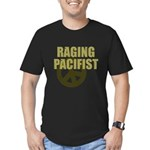 Raging Pacifist Men's Fitted T-Shirt (dark)