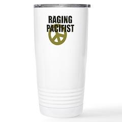 Raging Pacifist Stainless Steel Travel Mug