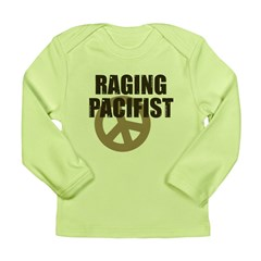 Raging Pacifist Long Sleeve Infant T-Shirt