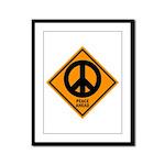 Peace Ahead Framed Panel Print