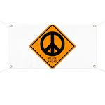 Peace Ahead Banner
