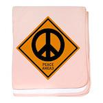 Peace Ahead baby blanket