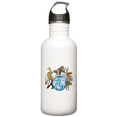 They Were Here First Stainless Water Bottle 1.0L