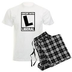 Content Rated Liberal Men's Light Pajamas