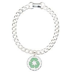Path to Recycling Charm Bracelet, One Charm