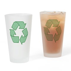 Path to Recycling Pint Glass