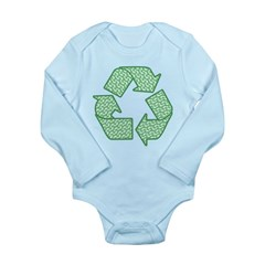 Path to Recycling Long Sleeve Infant Bodysuit