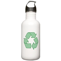 Path to Recycling Stainless Water Bottle 1.0L