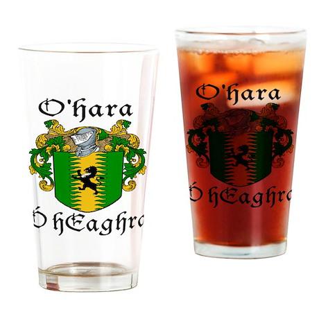 O'Hara In Irish & English Pint Glass