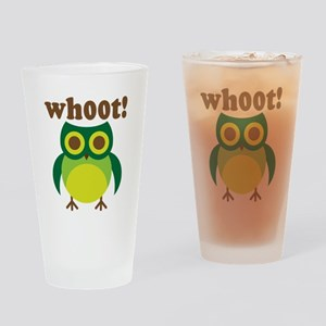 wh00t Goes The Owl Pint Glass