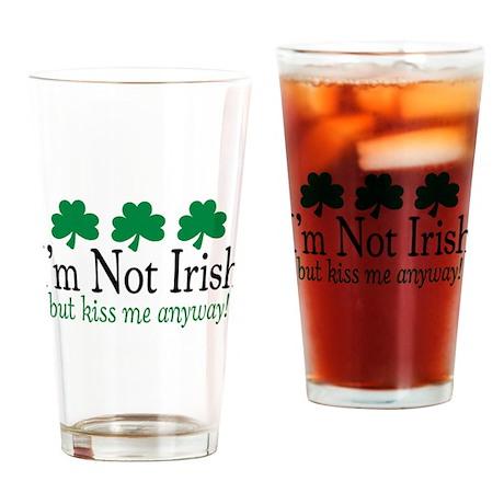 I'm Not Irish Pint Glass