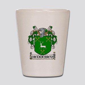 Hennessey Coat of Arms Shot Glass
