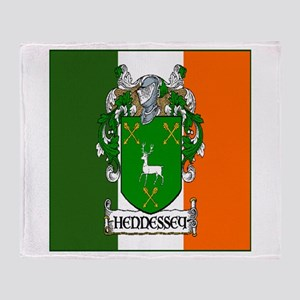 Hennessey Flag Arms Throw Blanket