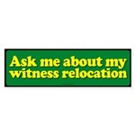 Witness Relocation sticker