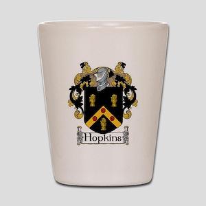 Hopkins Coat of Arms Shot Glass