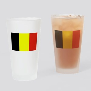 Belgium Flag Blank Pint Glass