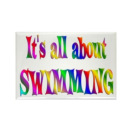 About Swimming Rectangle Magnet
