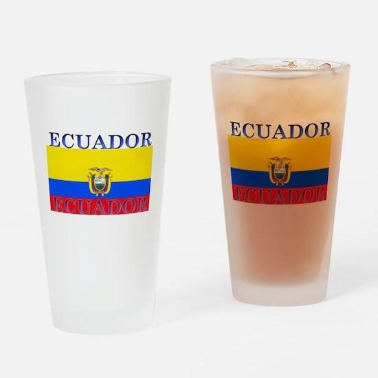 Ecuador Ecuadorian Flag Pint Glass